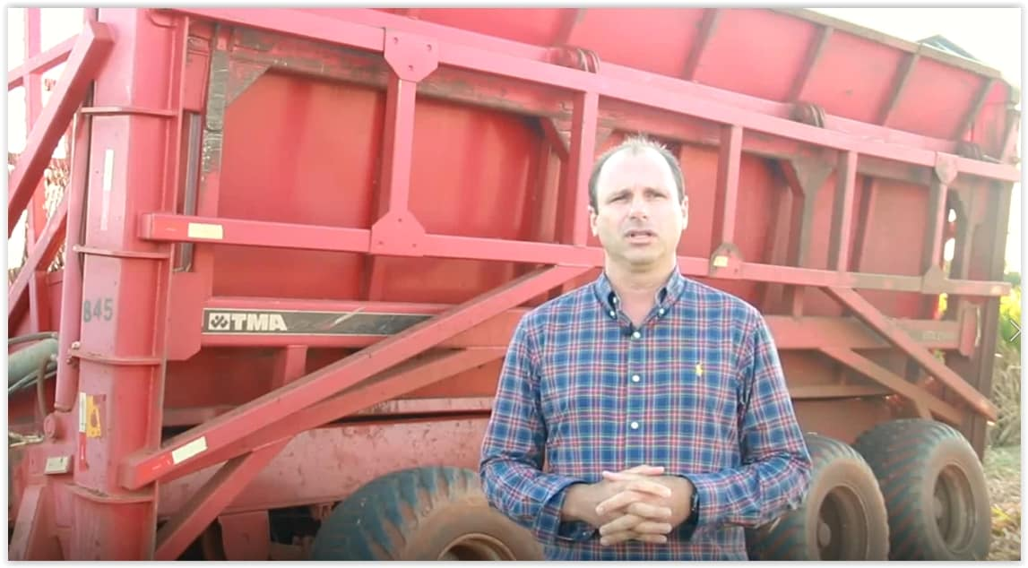 Juninho de Melo, proprietário da Fazenda Boa Esperança